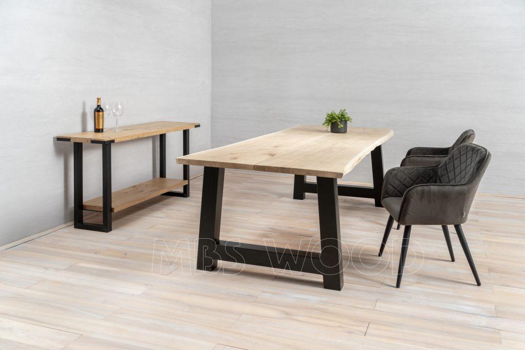 foto dining table oak lounge