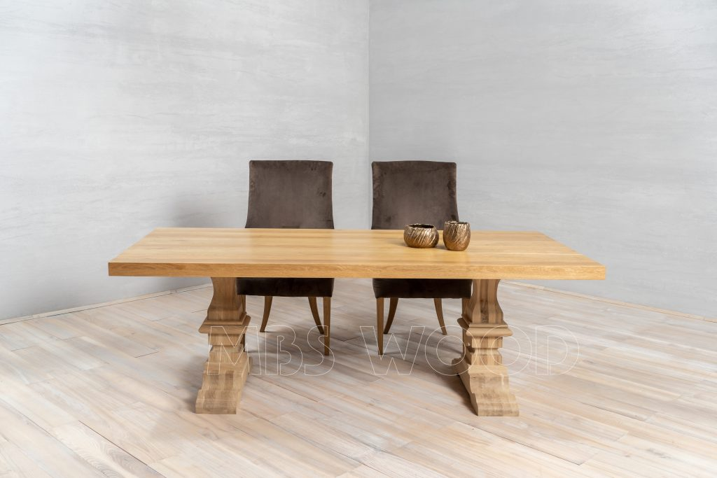 foto oak table kitchen