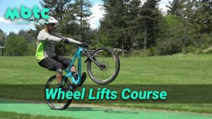 Wheel lifts course