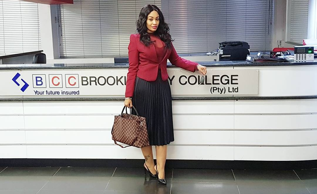 """Am the new CEO of Brooklyn City Colleges""""-Zari Hassan"""