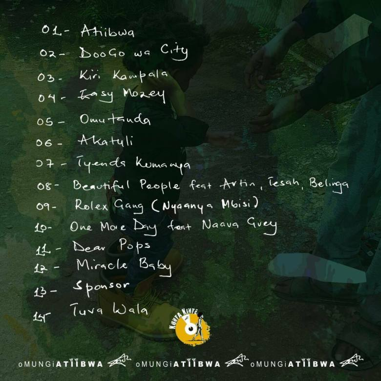To Mark It's 3Year Anniversary, Mun G's 'Omungi Atiibwa' Album is Landing on Streaming Services this September 1 MUGIBSON