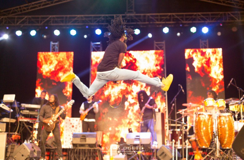 Chronixx performing | PHOTO by Ogeto Evans