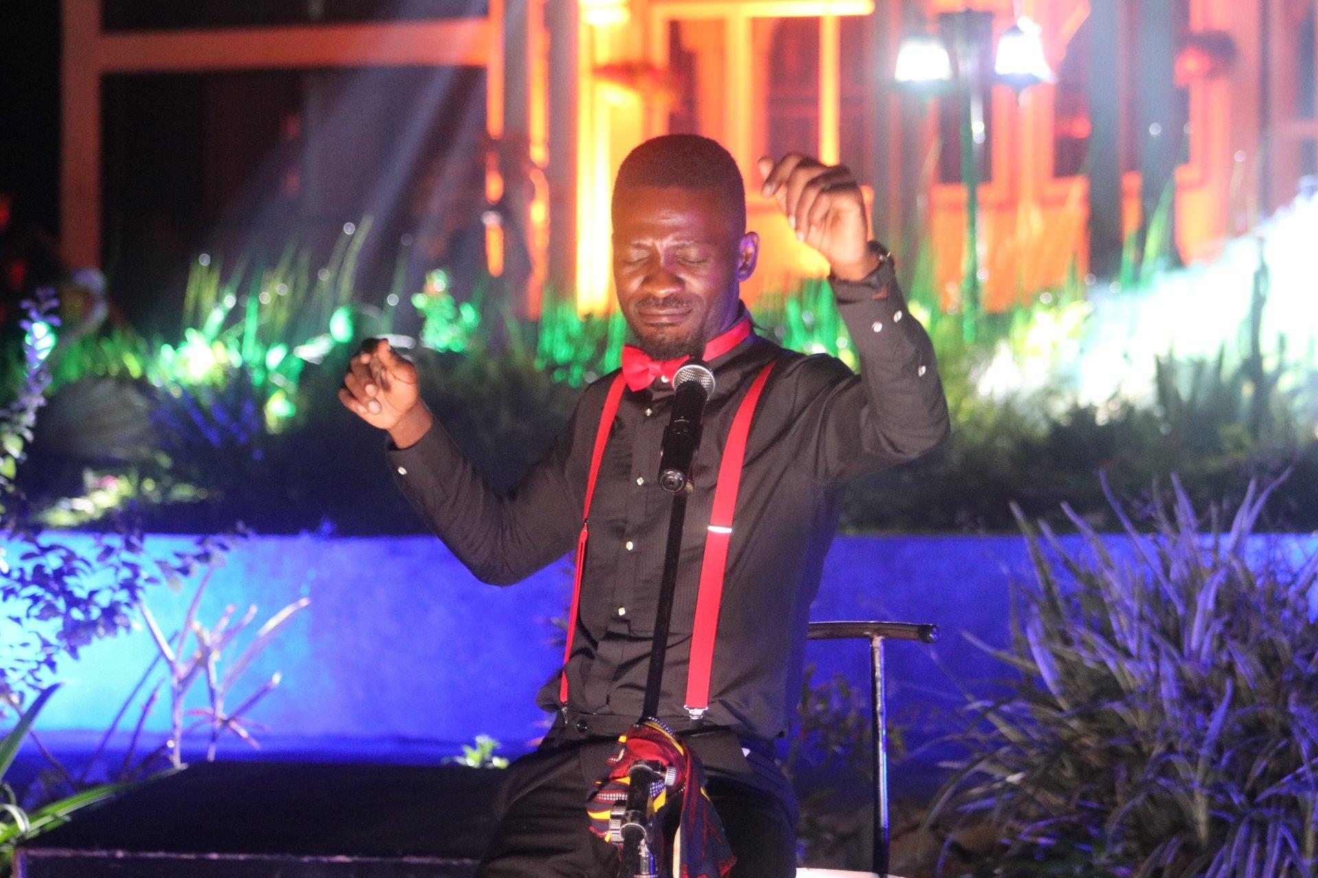 Bobi Wine 'goes Platinum' in 'Ensasagge mu Nyumba' Online Concert