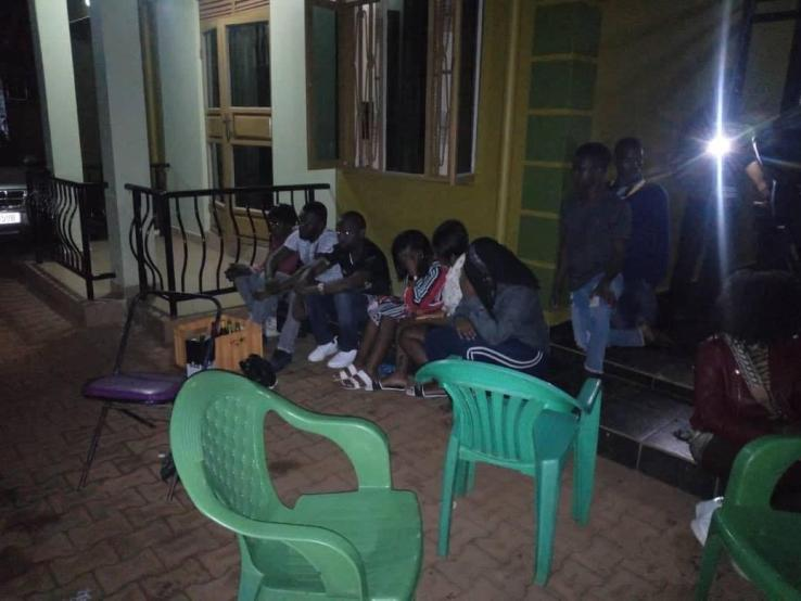 Police Raided A Sex Party In Kireka And Arrested 21 Culprits Who Were Caught Red-Handed. 14