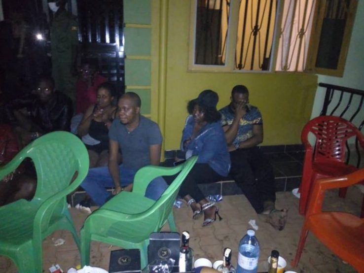 Police Raided A Sex Party In Kireka And Arrested 21 Culprits Who Were Caught Red-Handed. 15