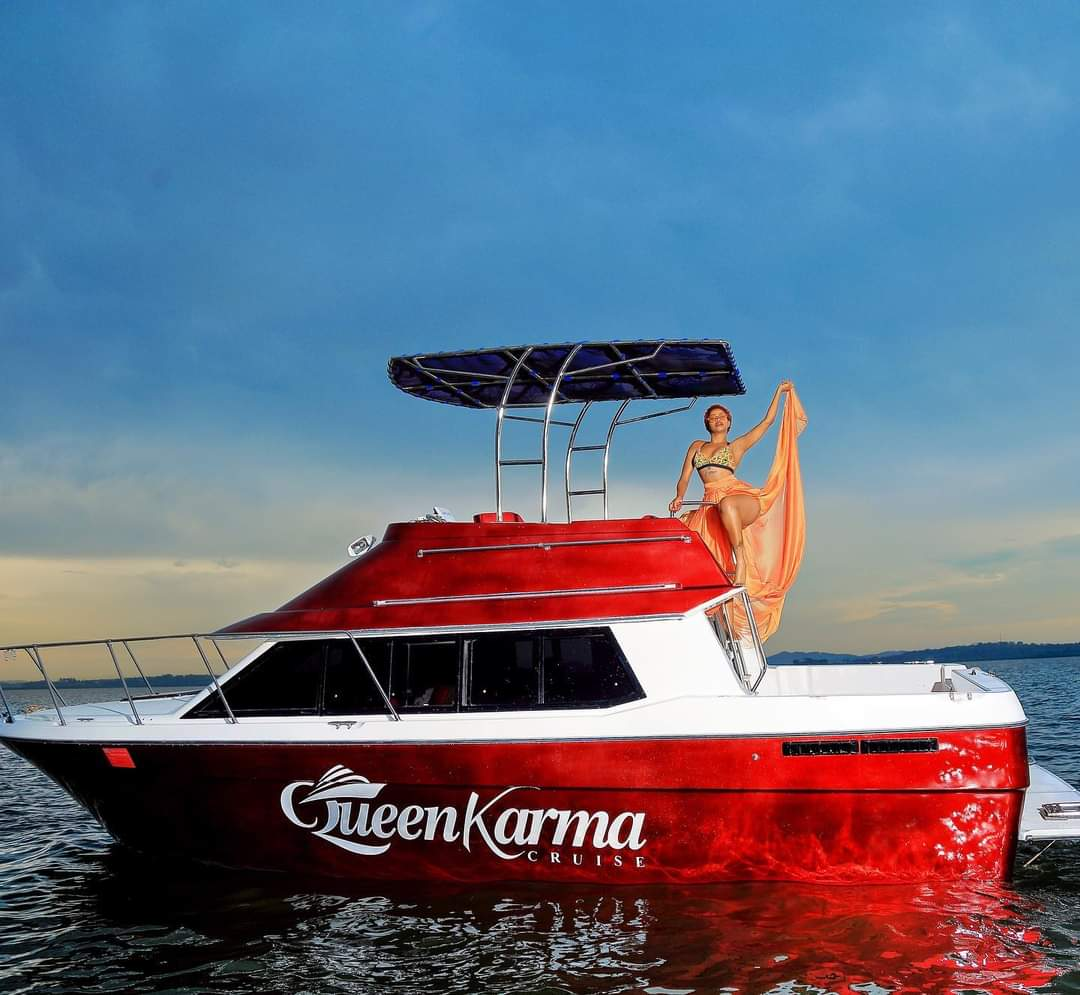 Sheebah displays her new boat, names it Queen Karma Cruise (PHOTOS)
