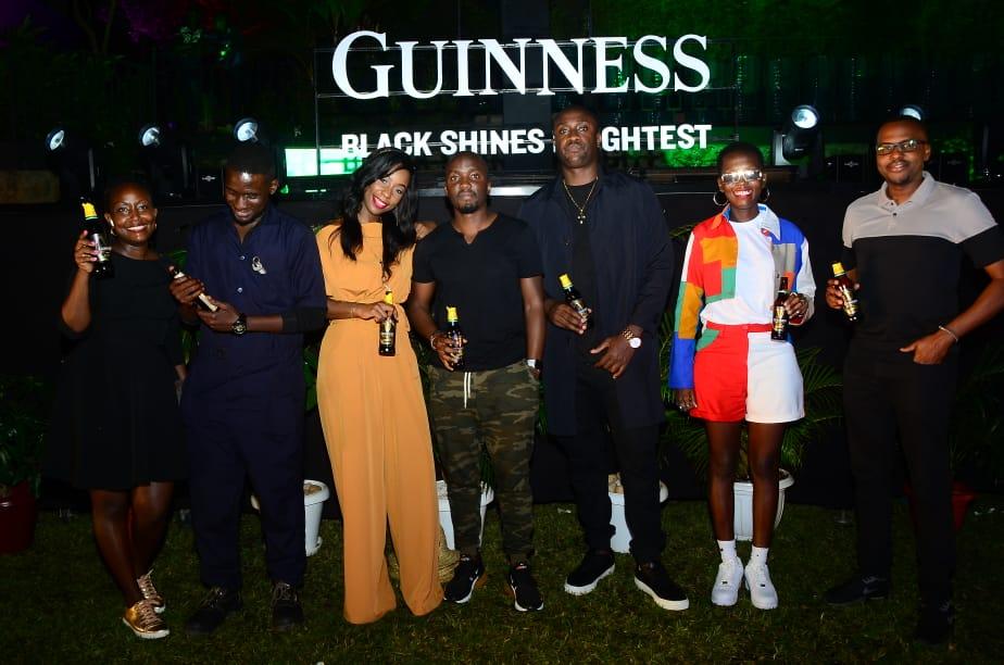 Azawi Lands Very First Brand Endorsement of Her Career. Joins Fireboy DML, Beverly Naya As Guinness Brand Ambassador 2 MUGIBSON