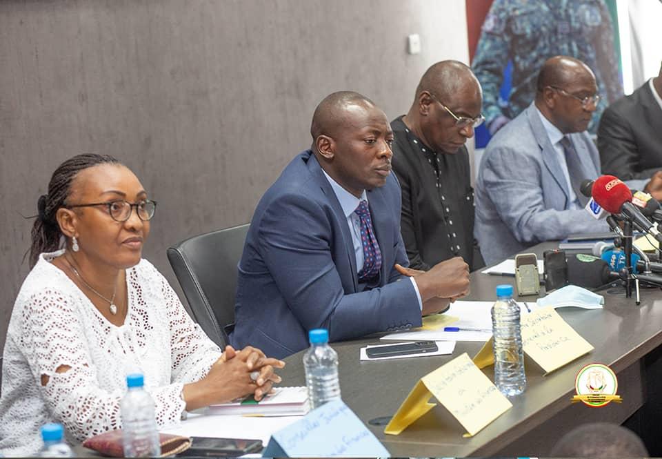 Point de presse conjoint CNRD- pôle financier sur la Loi de Finances Rectificative 2021