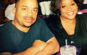 """Siblings Eric Bullock and Melanie Bullock at lunch Thursday in Vegas, minutes after learning about the shocking death of Prince. """"We go out to eat - because that's what you do right?"""""""