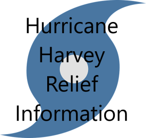Relief Information – Hurricane Harvey