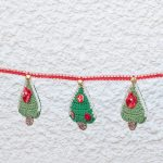 Crochet Bunting Christmas Trees With Jingle Bells Mbwa Wa Africa Animal Rescue