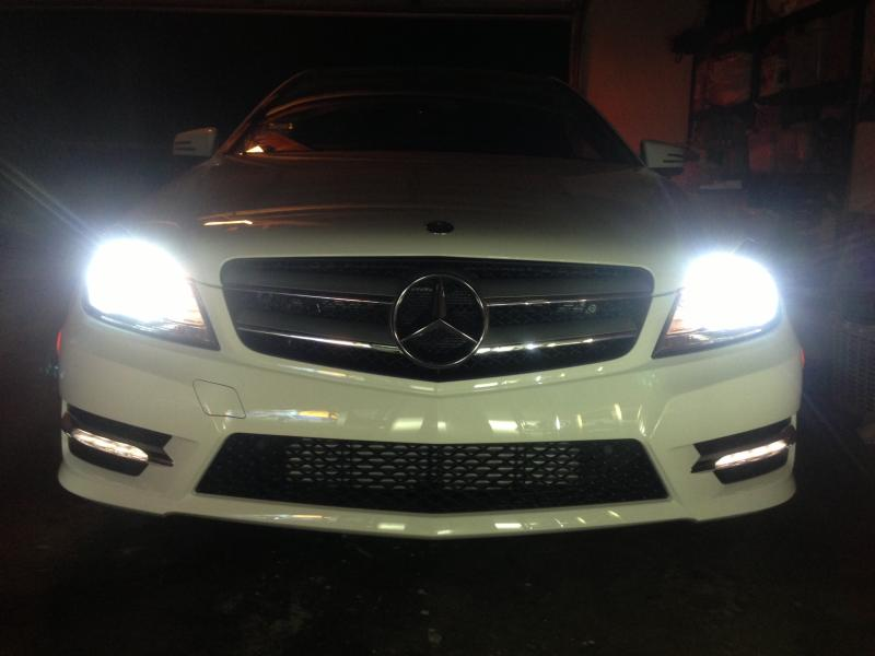 2013 C250 Hid Install Mbworld Org Forums