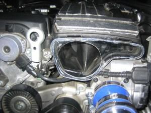M271 (18L) Supercharger Intake Resonator (baffled muffler
