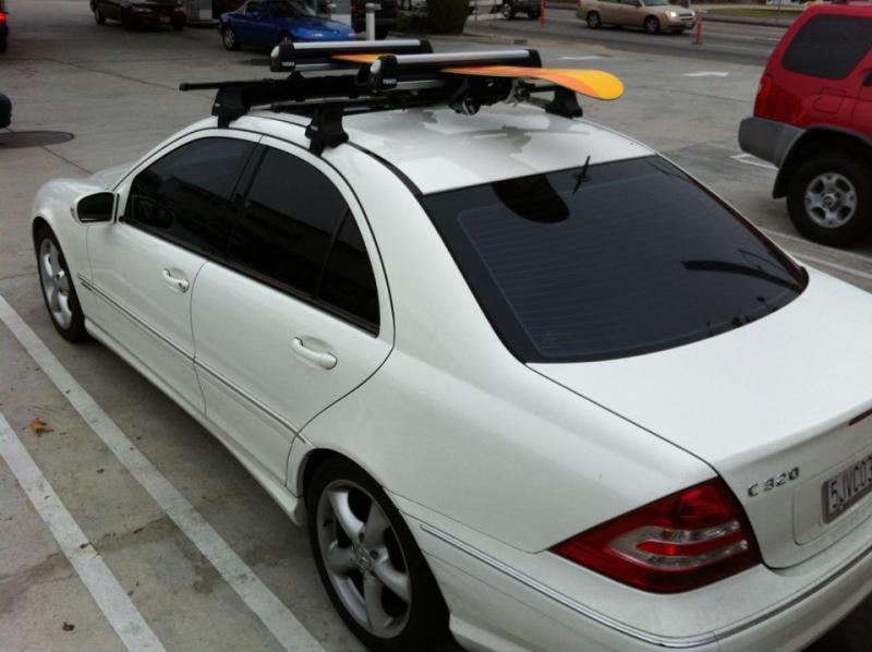 mercedes c class roof rack