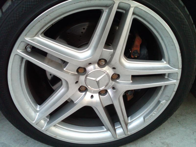 Rusted Brake Caliper And Lug Nuts Mbworld Org Forums