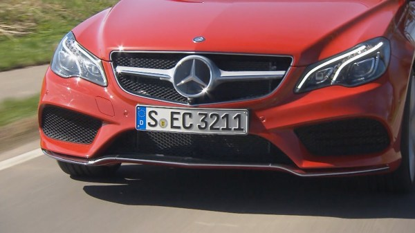 2014 e class cabrio install front license plate MBWorld