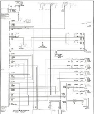 W210 speaker wiring diagram  MBWorld Forums
