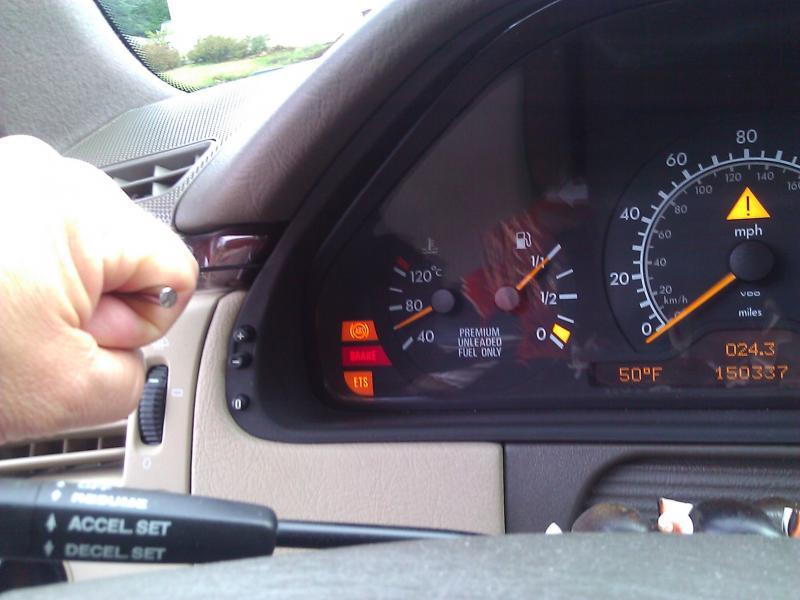 2007 Jeep Grand Cherokee Instrument Lights