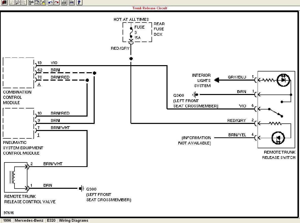 1999 Porsche Boxster Fuse Panel Diagram Box