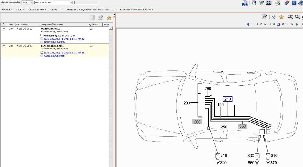 mercedes sprinter rear interior light fuse www. Black Bedroom Furniture Sets. Home Design Ideas