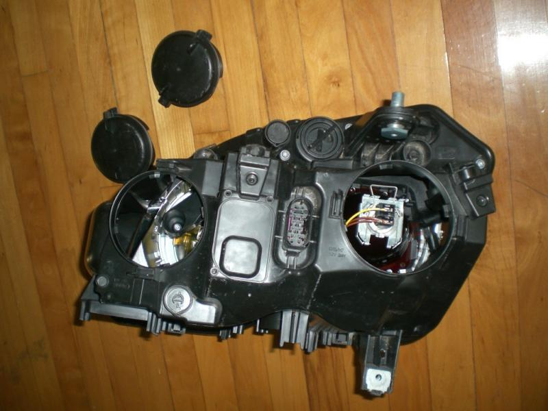 Swap Entire Headlight Housing With Xenon Housings