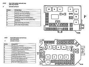 Fuses chart for 2008 s550 please!!  MBWorld Forums