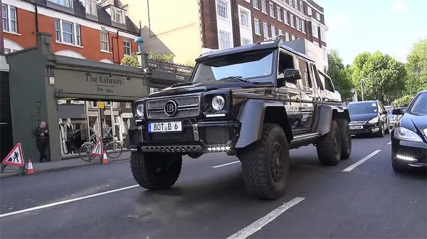 Brabus Bragging Rights Ensured In London By B63s 700 6x6 Mbworld