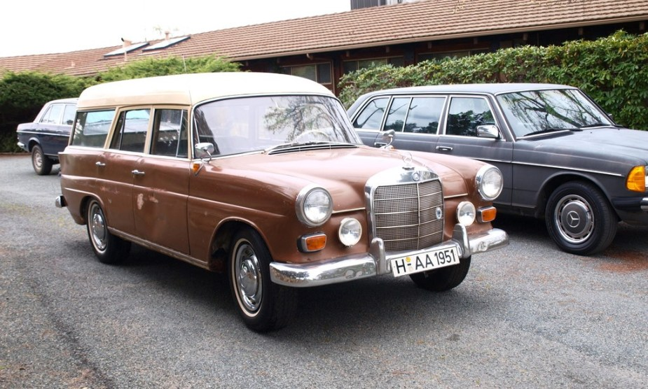 eBay Find of the Week: Rare 1963 W110 Heckfloße Kombiwagen