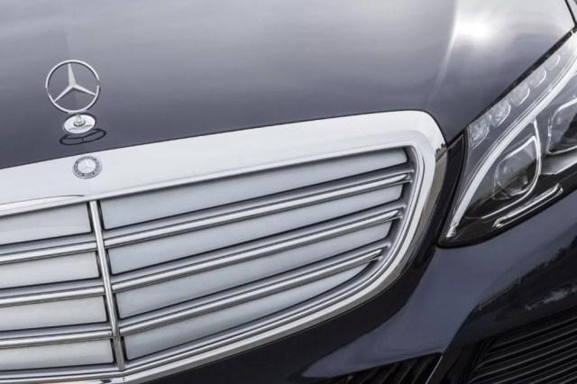 Mercedes-Benz C-Class Hood Ornament