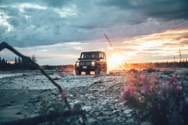 Watch the Mercedes G-Class prove that it can take on some of the harshest weather on the planet.