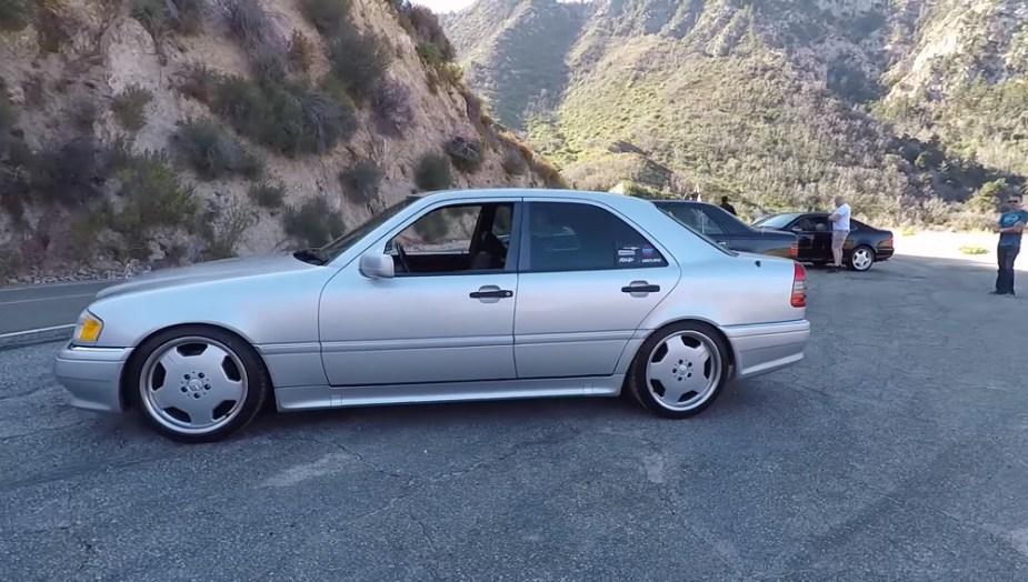 Tyler Hoover's 1995 Mercedes C36 AMG
