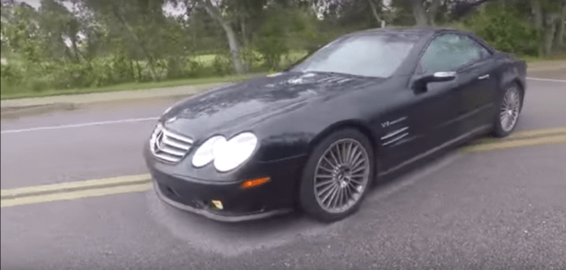 SL55 AMG with Adjustable Coilover Suspension