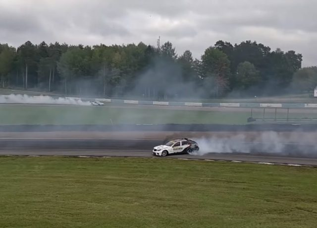 Mercedes W203 Drifting Wagon