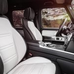 2019 G-Class Front Seats in White