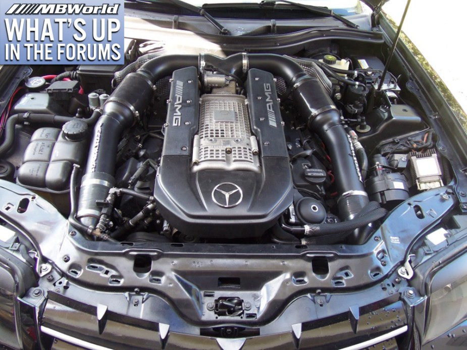 MBWorld.org - Mercedes-Benz Engine Bay