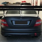 C63 Tracktool Rear Big Wing