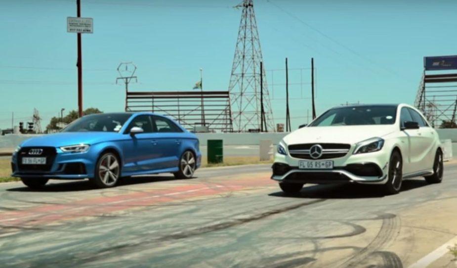Mercedes-Benz GLA45 AMG vs. Audi RS3