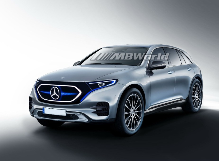 2020 Mercedes-Benz EQC Imagined in Artist's Renderings ...