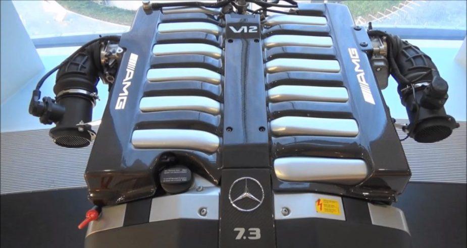 AMG V12 Biturbov