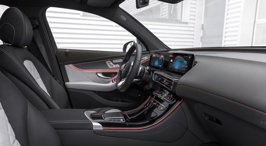2020 Mercedes-Benz EQC interior