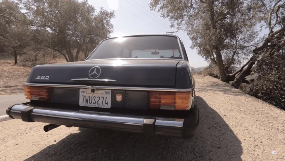 Mercedes-Benz W114 Hides Techy Secret - MBWorld on