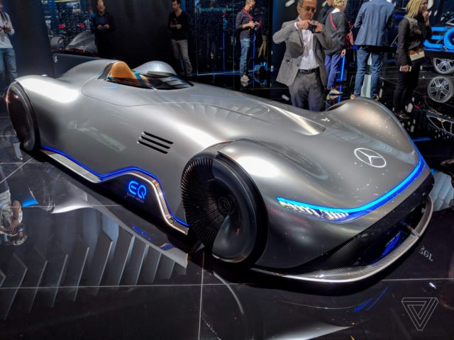 Mercedes EQ Silver Arrow