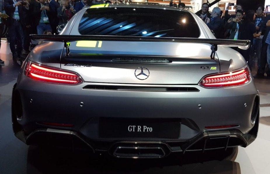 Mercedes-Benz AMG GT R Pro Rear