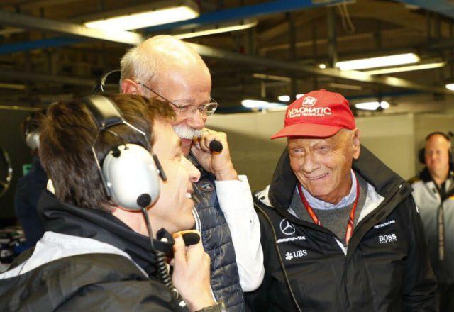 Niki Lauda Mercedes