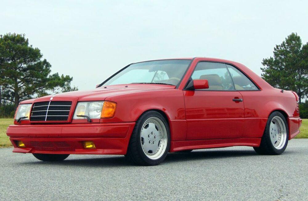 Custom Mercedes-Benz 300CE Twin Turbo Is So Miami Vice, it Hurts