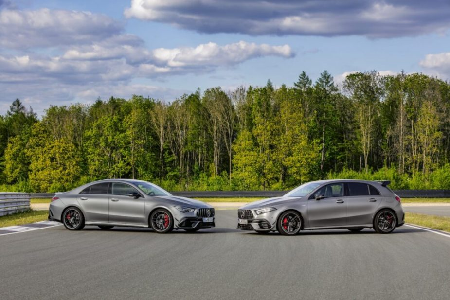 Mercedes-AMG CLA 45 and A 45