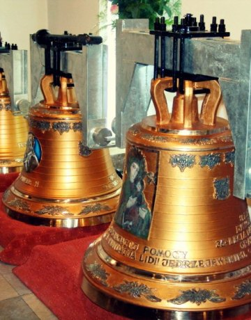 Uroczystość poświęcenia dzwonów (2004-10-07)