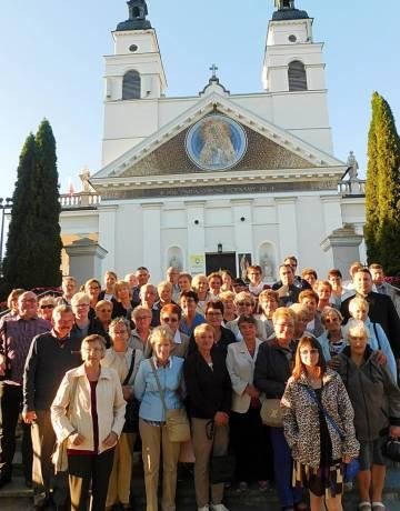 Pielgrzymka Wspólnoty Nieustającego Różańca  do Sanktuarium Cudu Eucharystycznego w Sokółce  i Sanktuarium Matki Bożej Bolesnej  w Świętej Wodzie.