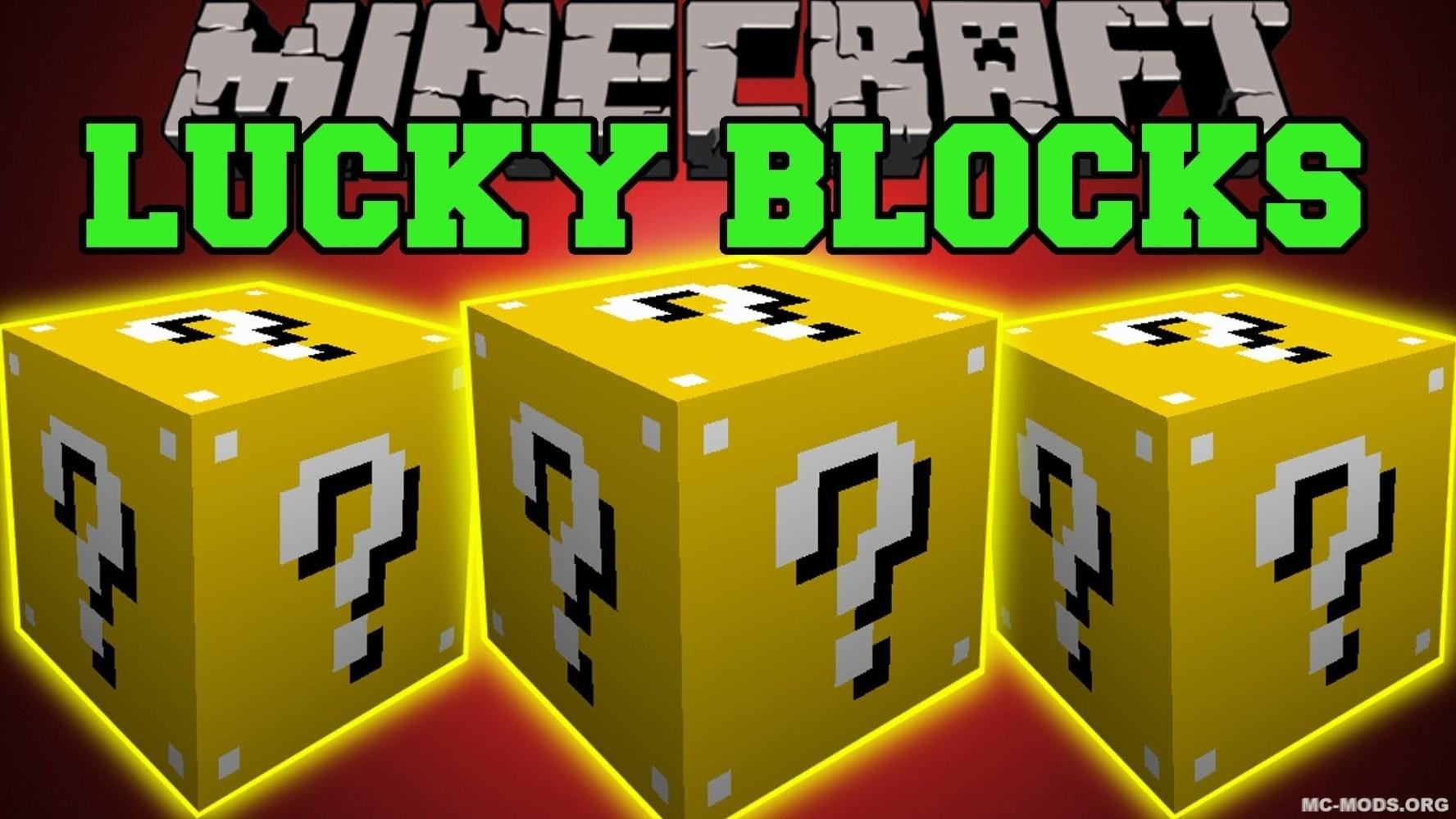 Lucky Block Mod 1 16 5/1 16 4/1 15 2/1 14 4 MC Mods org