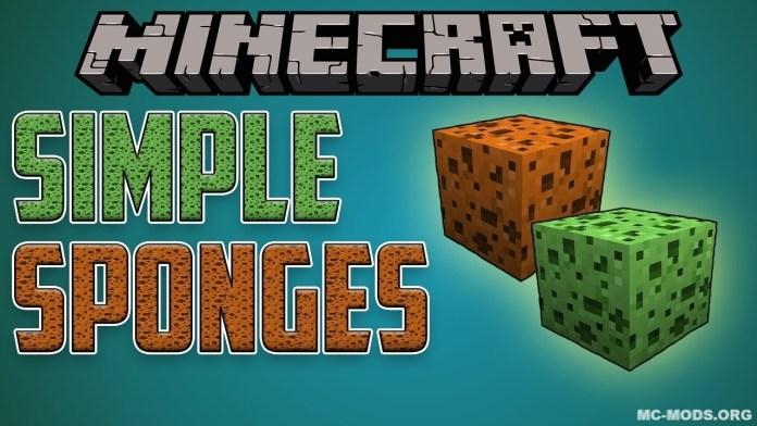 simple sponge mod
